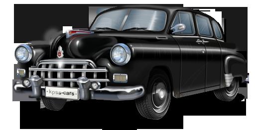 ГАЗ-12 «ЗиМ», черный